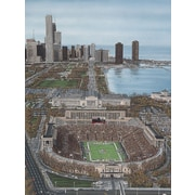 Diamond Decor Chicago's Soldier Field Artwork Canvas 12 x 16 in. (DV2005CS)