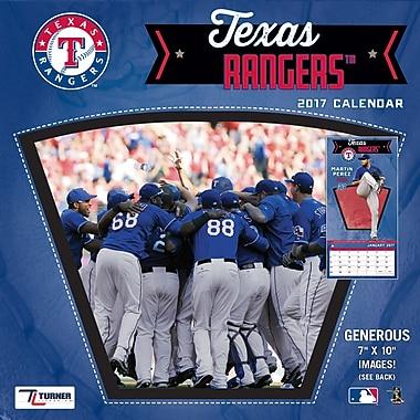 Turner Licensing Texas Rangers 2017 Mini Wall Calendar (17998040546)