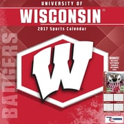 Turner Licensing Wisconsin Badgers 2017 Mini Wall Calendar (17998040527)