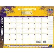 Turner Licensing Minnesota Vikings 2017 22X17 Desk Calendar (17998061542)
