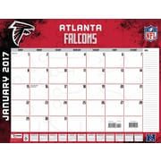 Turner Licensing 2017 Desk Calendars, Assorted NFL Teams