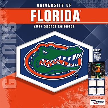 Turner Licensing Florida Gators 2017 Mini Wall Calendar (17998040520)