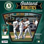 Turner Licensing Oakland Athletics 2017 Mini Wall Calendar (17998040542)