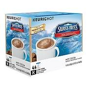Swiss Miss Milk Hot Chocolate, Keurig® K-Cup® Pods, 44/Box (351178)