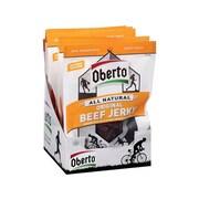 Oberto Beef Jerky, Original, 1.5 Oz., 8/Box (SMO1941)