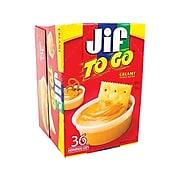 Jif To Go Spreads, Creamy Peanut Butter, 1.5 Oz., 36/Carton (220-00535)