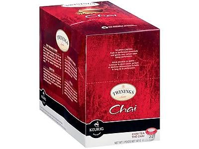 Twinings Chai Tea K-Cups, 24/Box (TNA09954)