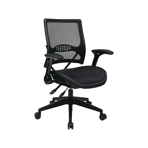 Space Seating 67 Series Mesh Manager Chair, Black (67-77N9G5)
