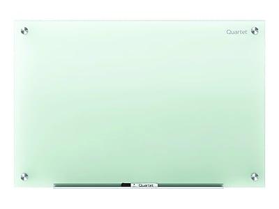 Quartet Infinity Glass Dry-Erase Whiteboard, 6' x 4' (G7248F)