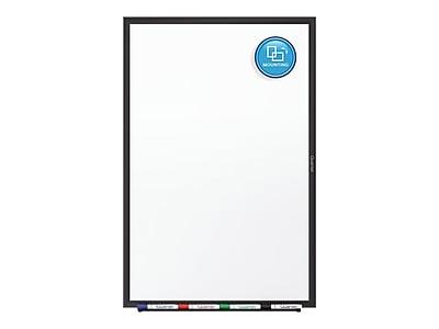 Quartet Classic Total Erase Dry-Erase Whiteboard, Aluminum Frame, 5' x 3' (S535B)