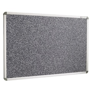 Best-Rite Rubber-Tak Bulletin Board, Euro Frame, 3'H x 4'W (12400)