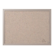 "MasterVision Fabric Bulletin Board, Gray Frame, 1.5""H x 2""W (FB0470608)"
