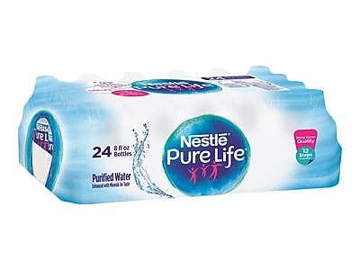 Nestle Pure Life Water, 8 Oz., 24/Carton (11476087)