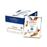 "Hammermill Premium 8.5"" x 11"" Multipurpose Paper, 20 lbs, 97 Brightness, 500/Ream, 10/Carton (106310)"