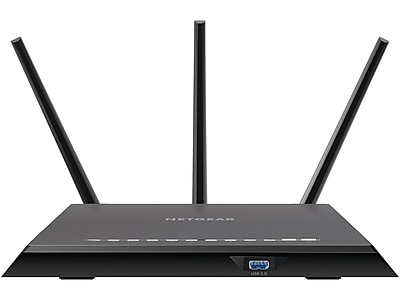 Netgear Nighthawk R7000-100NAS Dual Band Wireless and Ethernet Router, Black