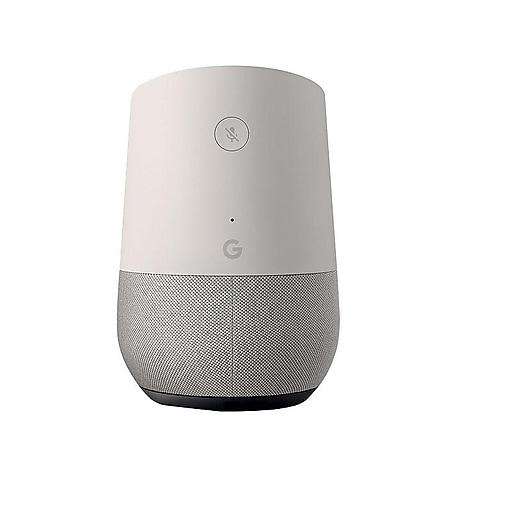 Google Home Smart Speaker, White (811571018420)