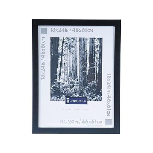 DAX Wide Wood Poster Frame, Black (2863W2X)