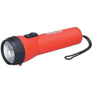 """Eveready 7.09"""" LED Flashlight, Red (EVEL25IN)"""