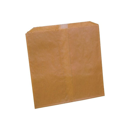 Impact Waxed Paper Sanitary Disposal Liners, Brown, 500/Carton (25122488)