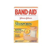 Band-Aid with NEOSPORIN Assorted Sheer Fabric Adhesive Bandages, 20/Box (5570/005711)