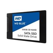 WD Blue WDS500G2B0A 500GB 3D NAND SATA 3 Internal Solid State Drive