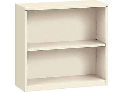 "HON Brigade HS30ABC 2-Shelf 29""H Bookcase, Putty/Beige Steel(HONS30ABCL) NEXT2019 NEXTExpress"