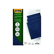 Fellowes Expressions Presentation Covers, Letter Size, Navy, 50/Pack (52124)