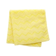 Rubbermaid HYGEN Microfiber Dry Cloths, Yellow, 12/Carton (FGQ61000YL00)