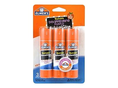 Elmer's School Glue Sticks, 0.77 Oz., 3/Pack (E562)