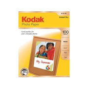 "Kodak Matte Photo Paper, 8.5"" x 11"", 100/Pack (8318164)"