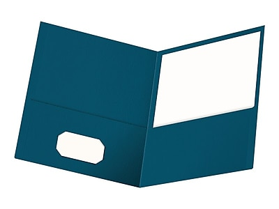 Assorted Colors 25 per Box Letter Size Oxford Two-Pocket Folders 57513
