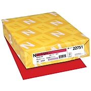 """Astrobrights Cardstock Paper, 65 lbs, 8.5"""" x 11"""", Re-Entry Red, 250/Pack (22751)"""