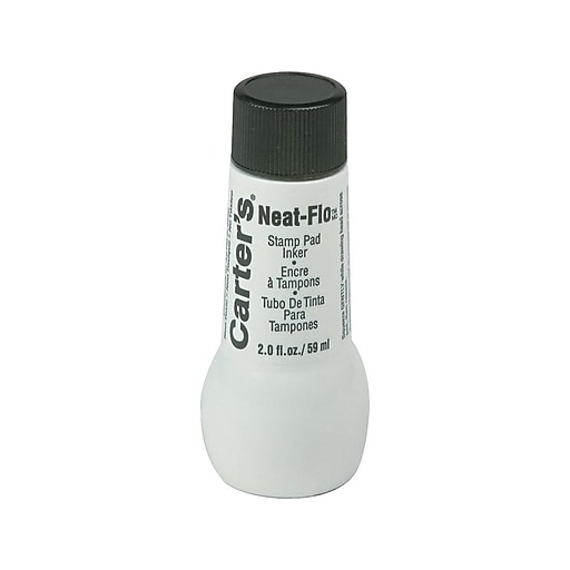Carter's Neat-Flo Ink Refill, Black Ink (21448)
