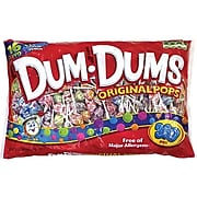 Dum Dums Lollipops, Variety, 61 oz. (20065)