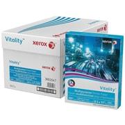 "Xerox Vitality 8.5"" x 11"" Multipurpose Paper, 20 lbs, 92 Brightness, 500/Ream, 10 Reams/Carton (3R02047)"