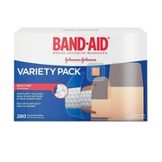 BAND-AID Brand COMFORT-FLEX Adhesive Bandages Variety Pack, 280 Count/Box (Model:4711)