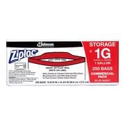 Ziploc® Storage Bags, Gallon, 250 Bags/Carton (682257)