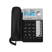 AT&T ML17929 2-Line Corded Phone, Black/Silver