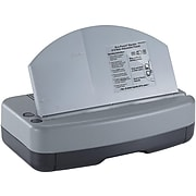 OfficeMate Eco-Punch Adjustable Punch, 30 Sheet Capacity, Gray (90115)