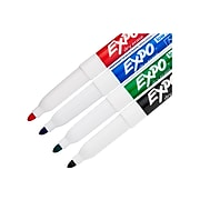 Expo Dry Erase Markers, Fine Point, Assorted Colors, 4/Pack (86674)