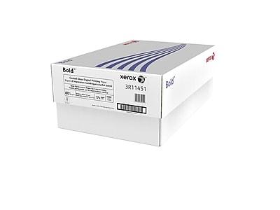 "Xerox Bold Digital 11"" x 17"" Multipurpose Paper, 80 lbs., 94 Brightness, 500/Ream, 3 Reams/Carton (3R11451)"