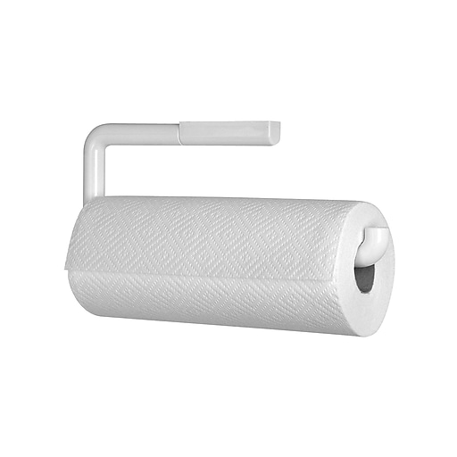 Interdesign Wallmount Paper Towel Holder White Staples
