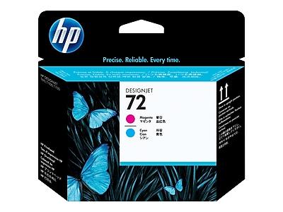 HP 72 DesignJet C9383A Printhead, Cyan/Magenta