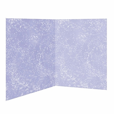 Amscan Snow Flurries Scene Setter, 4' X 40' (674002)