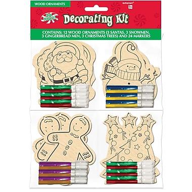 Amscan Ornament Decorating Kit, (395270)