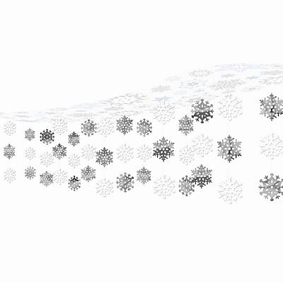 Amscan Let it Snow Ceiling Decoration, Plastic and Foil, 20