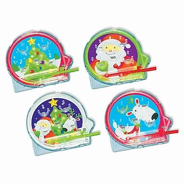 Amscan Christmas Pinball Game, 6/Pack, 12 Per Pack (390792)