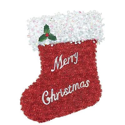 Amscan Deluxe Stocking Tinsel Decoration, 20