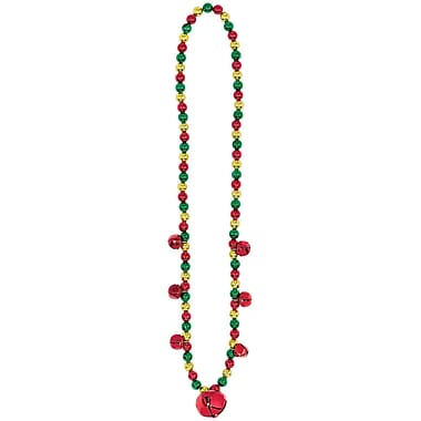 Amscan Christmas Jingle Bell Necklace, 32