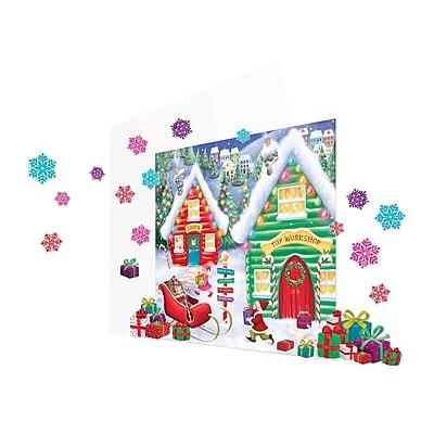 Amscan North Pole Scene Setter Kit, 2/Pack, 32 Per Pack (670232)